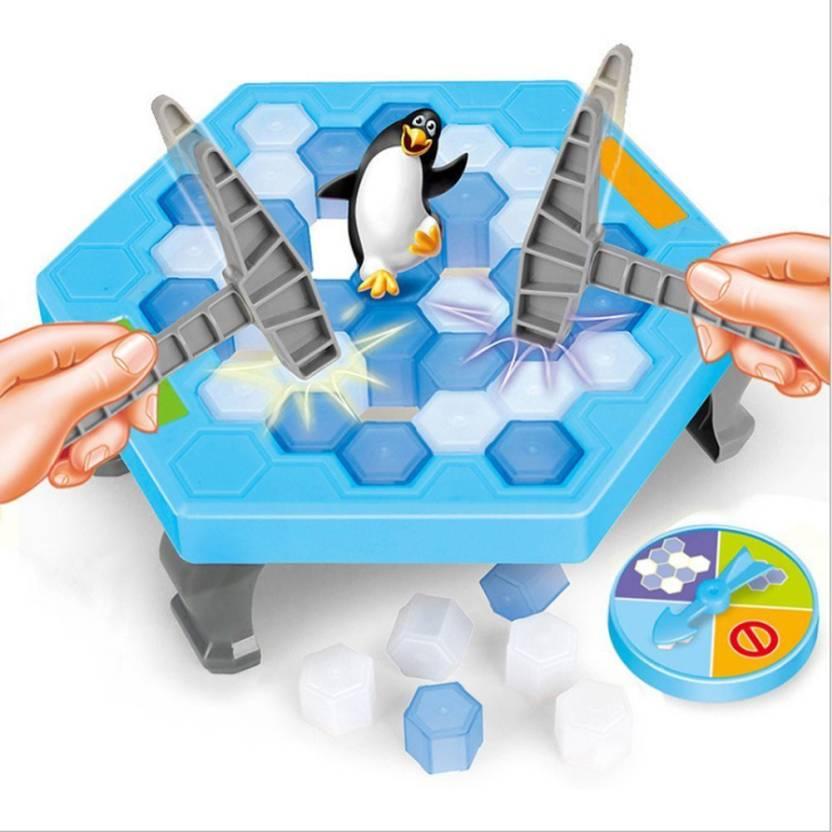 7371b8344eab Emob Penguin Jump Trap Interesting Blocks Assemble Cartoon Game For Kids  (Multicolor)