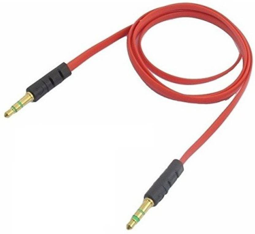 Raptas 3.5mm Male to Male Car Aux Auxiliary Cord Stereo Audio Cable Connector AUX Cable (Multicolor)