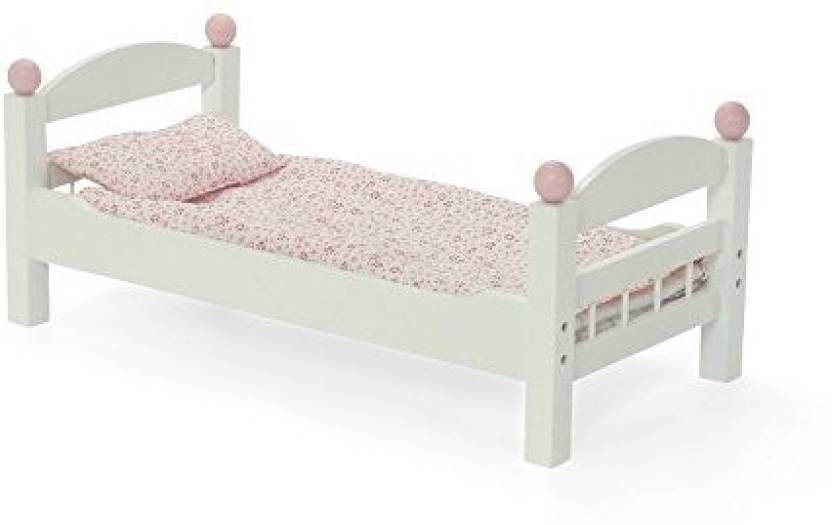 Generic 18 Inch Doll Furniture Stackable White Single Bunk Bed