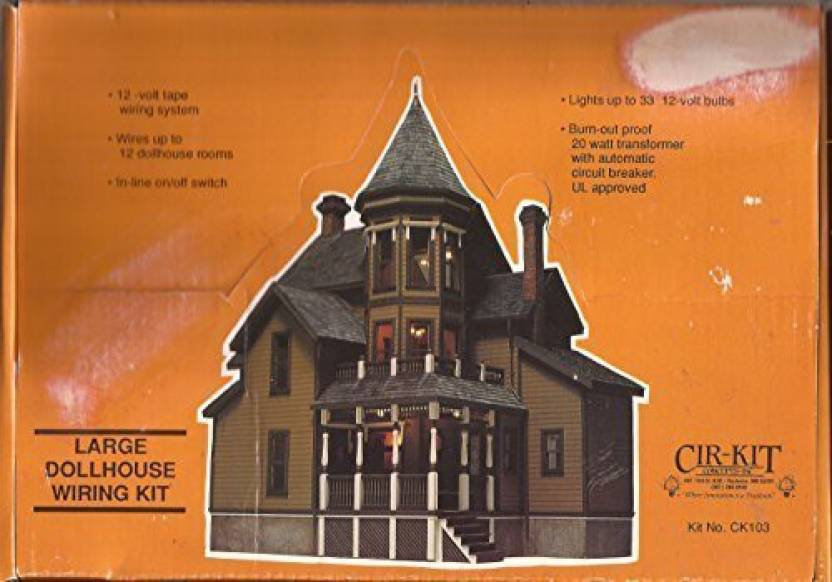 Marvelous Cirkit Concepts Dollhouse Large House Wiring Kit Up To 33 Bulbs Wiring 101 Ivorowellnesstrialsorg