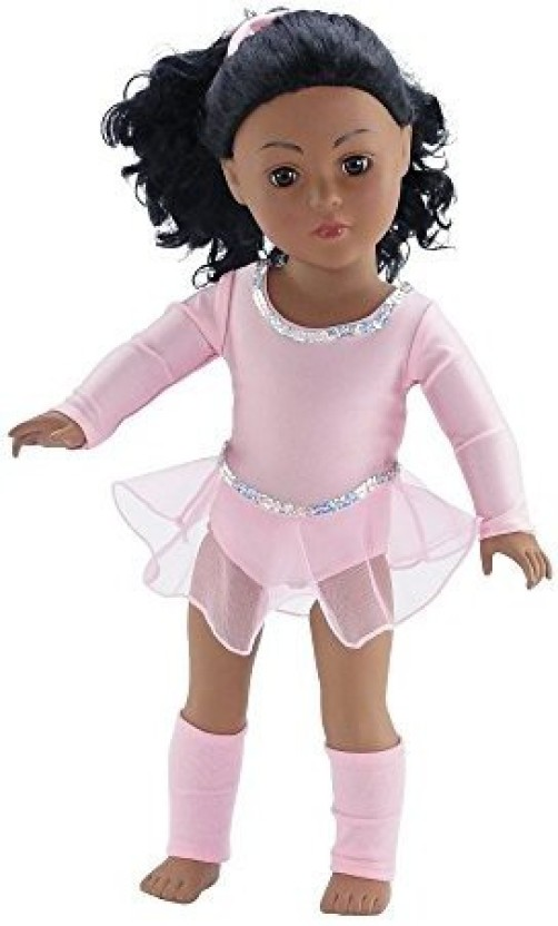 Doll Clothes Ice Skates fit 18 Inch American Girl Dolls