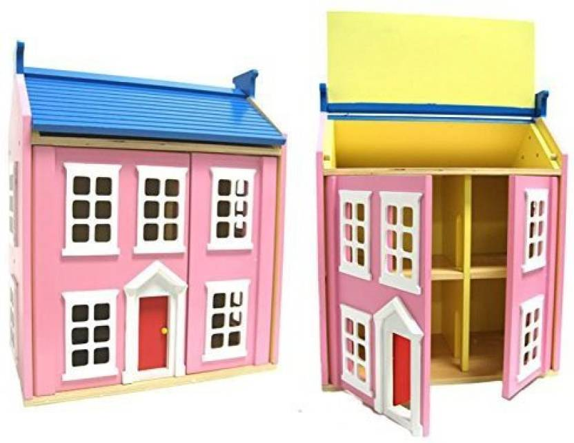 Centralsupplies Children S Wooden Dollhouse Big Wooden Doll House