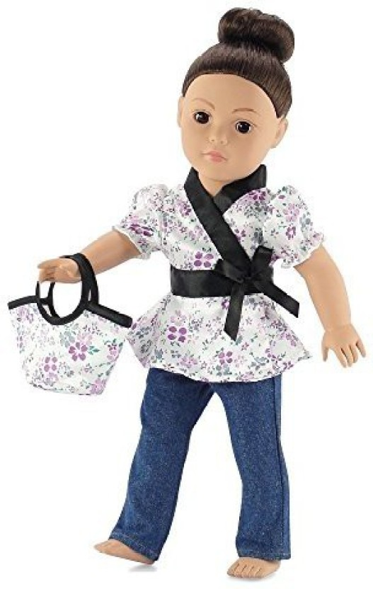 Polka Dot Skirt Fits 18 inch American Girl Dolls