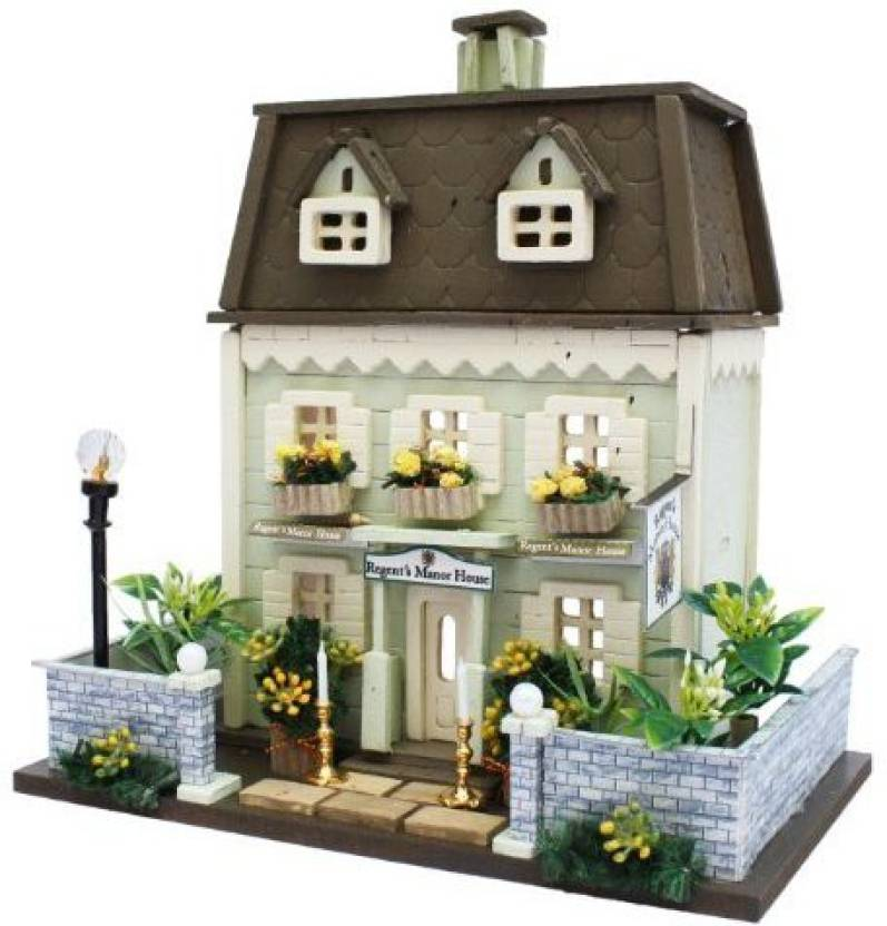 Generic Billy Handmade Dollhouse Kit Woody House Collection Manor