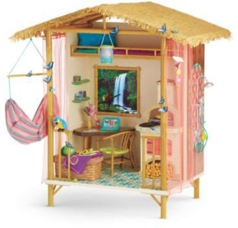 """American Girl 18"""" Doll Lea Rainforest House Table ONLY"""
