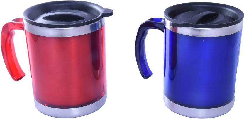 8220b46f134 ALTG Insulated Travel with Sipper Lid (Body Colour Handle) Stainless Steel  Mug