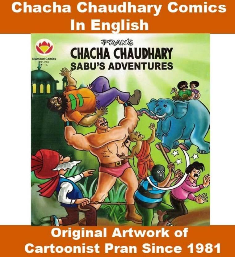 Chacha Chaudhary And Sabu's Adventures Comics In English, Chacha