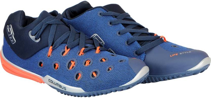 4002d178779f7e Columbus Men s Running Shoes For Men - Buy Navy Orange Color ...