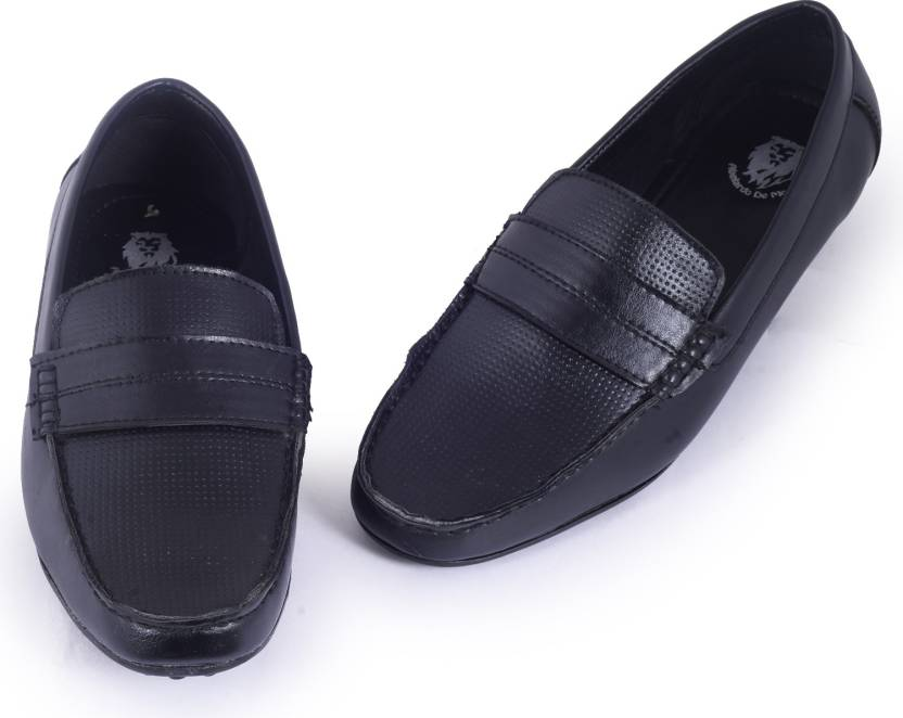 48938cf36 Abelardo De Moda Abelardo De Moda Tan Faux Leather Loafers Loafers For Men  (Black)