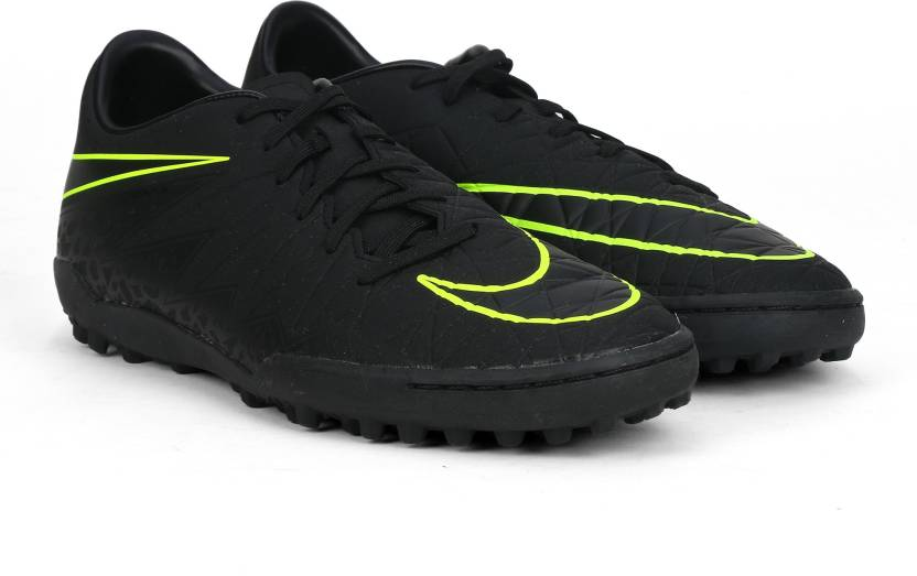 ddd1f5378dfc Nike HYPERVENOM PHELON II TF Football Shoes For Men - Buy BLACK ...