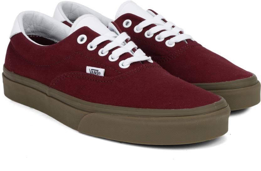 Vans Era 59 Sneakers For Men - Buy Maroon Color Vans Era 59 Sneakers ... 8fc3150c3