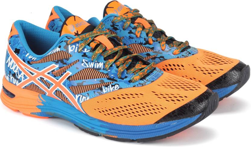 low priced 47b27 dcb03 Asics GEL-NOOSA TRI 10 RUNNING For Men (Blue, Orange)