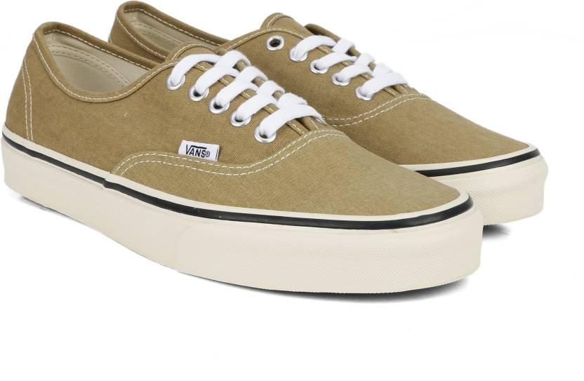 2e3b8c54313a Vans Authentic Sneakers For Men - Buy Khaki Color Vans Authentic ...