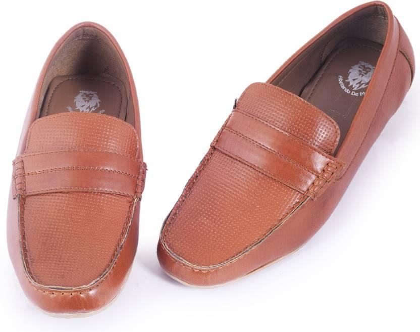 3bd5160f8 Abelardo De Moda Abelardo De Moda Tan Faux Leather Loafers Loafers For Men  (Tan)