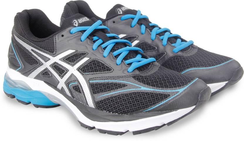 6e01ecb1c4 Asics GEL-PULSE 8 RunningShoe For Men - Buy BLACK SILVER BLUE JEWEL ...
