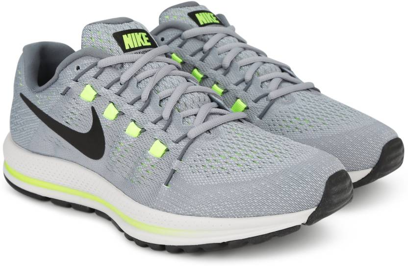 43b784c6a53d Nike AIR ZOOM VOMERO 12 Running Shoes For Men - Buy WOLF GREY BLACK ...