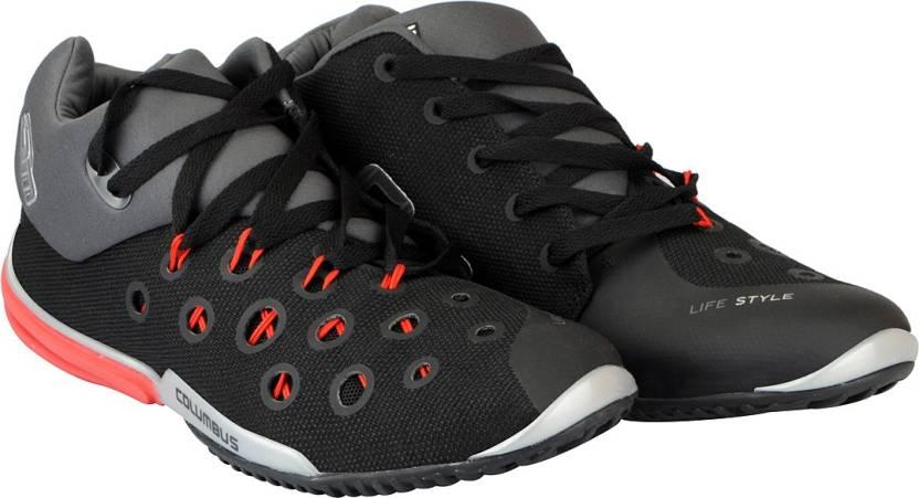 76c30a351b76 Columbus Men s Walking Shoes For Men - Buy Black Grey Color Columbus ...
