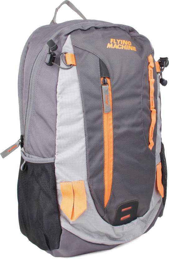 ac453d51a8 Flying Machine FMLO8053 18 L Backpack (Grey)