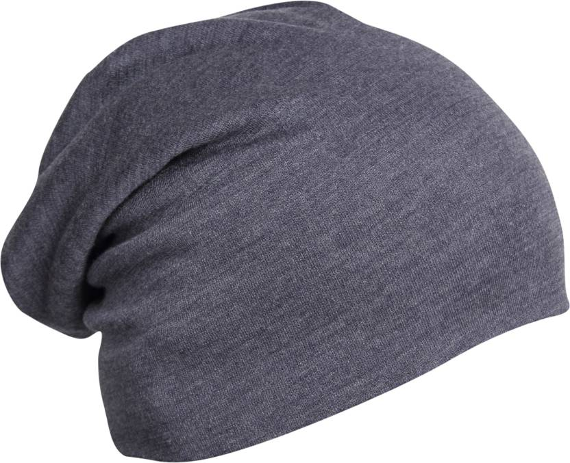 0cc27755a0b FabSeasons Solid Slouchy Beanie Skull Cap Cap - Buy Blue FabSeasons Solid Slouchy  Beanie Skull Cap Cap Online at Best Prices in India