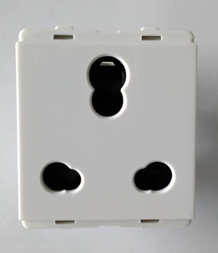 Schneider P2005 10 A Three Pin Socket