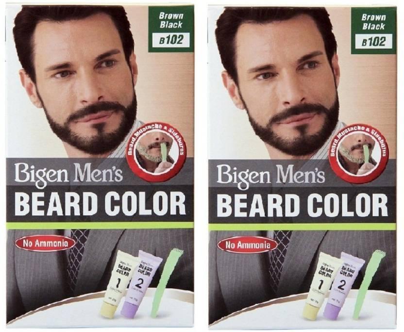 Bigen Beard Colour Brown Black 102 Hair Color Price In India Buy