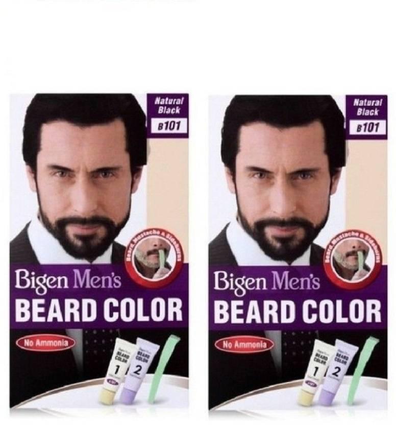 Bigen Beard Colour Natural Black 101 Hair Color Price In India