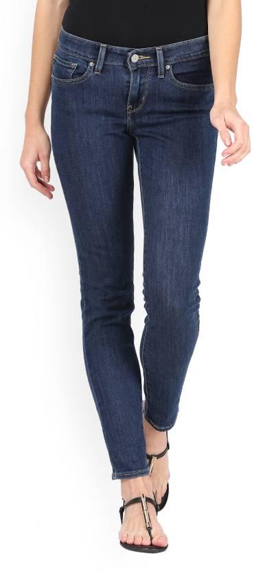 83076b25de Levi s Skinny Women s Blue Jeans - Buy Blue Levi s Skinny Women s Blue Jeans  Online at Best Prices in India