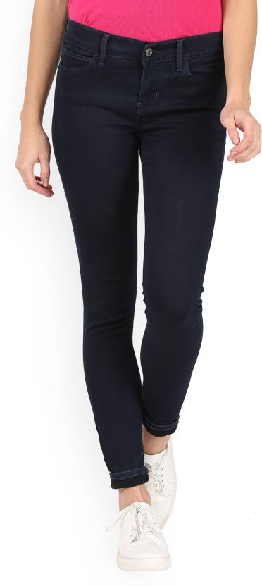 7e42232c8c5f6 Levi's Super Skinny Women's Blue Jeans - Buy Blue Levi's Super ...