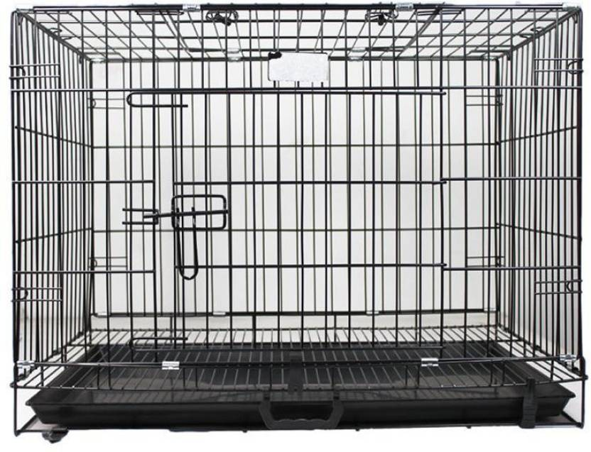 Sri Imported High Quality Dog Puppy Pet Cage With Removable Tray