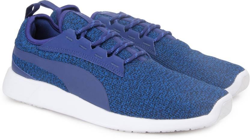 d43197bd0500dd Puma ST Trainer Evo v2 Knit Sneakers For Men - Buy Lapis BlueBlue ...