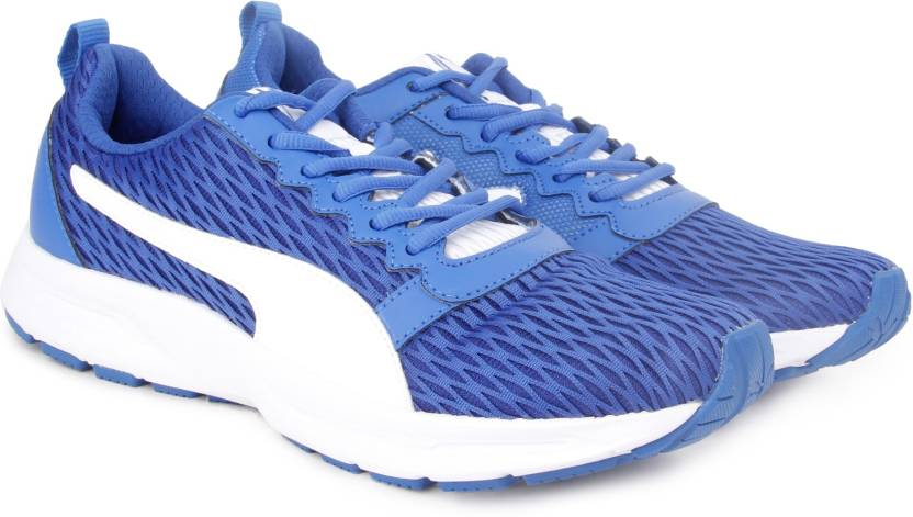 Puma Fabian Running Shoes For Men - Buy Lapis BlueWhite Color Puma ... a33d30ef0