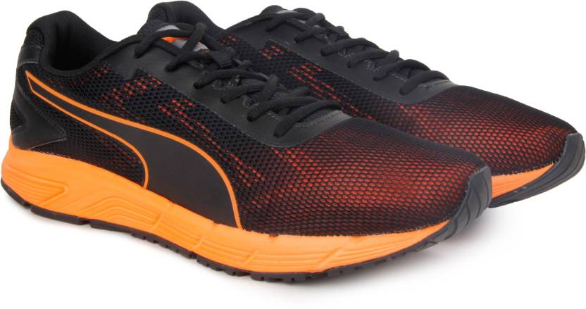 Puma Engine Running Shoes For Men - Buy Puma BlackShocking Orange ... 886d2f0b2