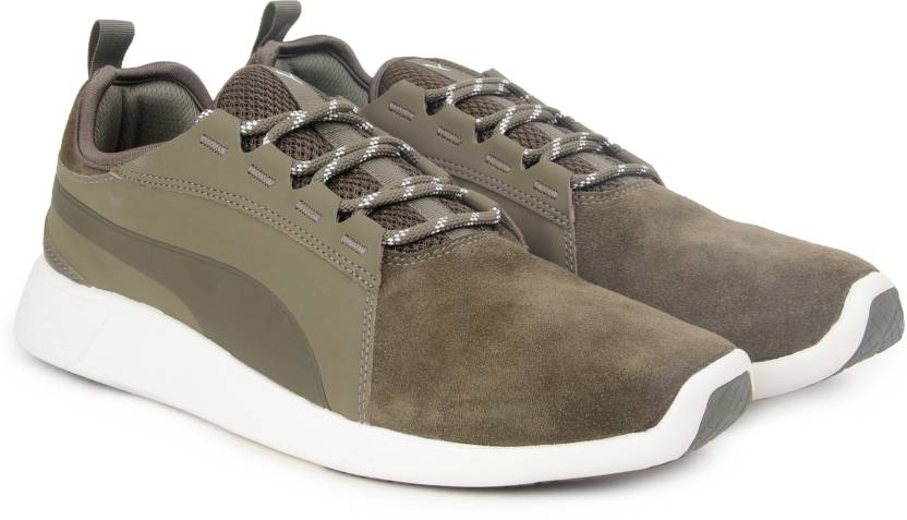 35c191477a2f Puma ST Trainer Evo SD v2 Sneakers For Men - Buy Olive NightOlive ...