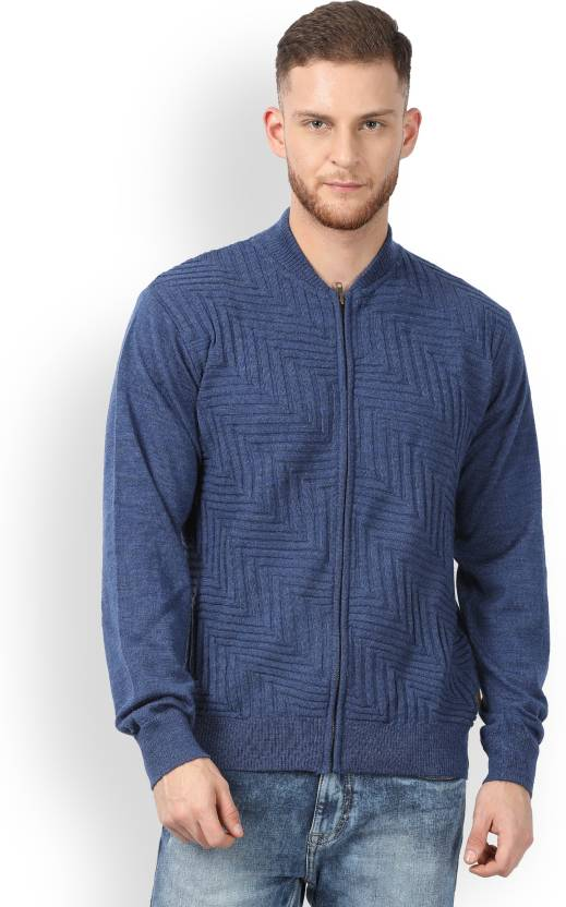 3183f8d8362 Raymond Solid Round Neck Formal Men s Blue Sweater - Buy Blue Raymond Solid  Round Neck Formal Men s Blue Sweater Online at Best Prices in India
