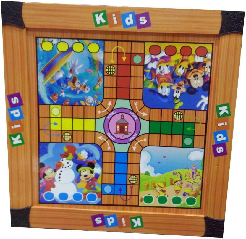 shoppersden fun ludo big board game with pawns and dice board game