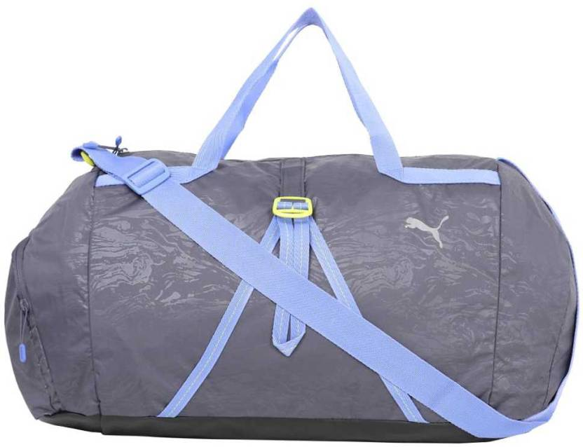a2bc4c72ff Puma Fit AT Sports Duffle Gym Bag Black - Price in India | Flipkart.com