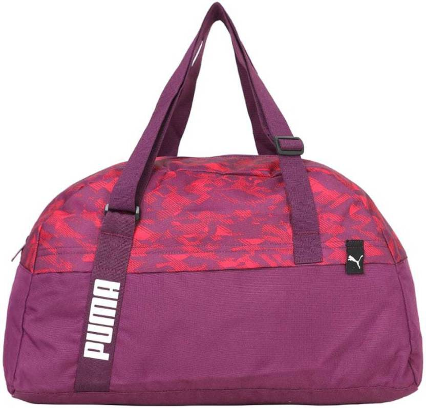 Puma Core Active Sportsbag M Gym Bag Purple - Price in India ... 0ebbee42f8379