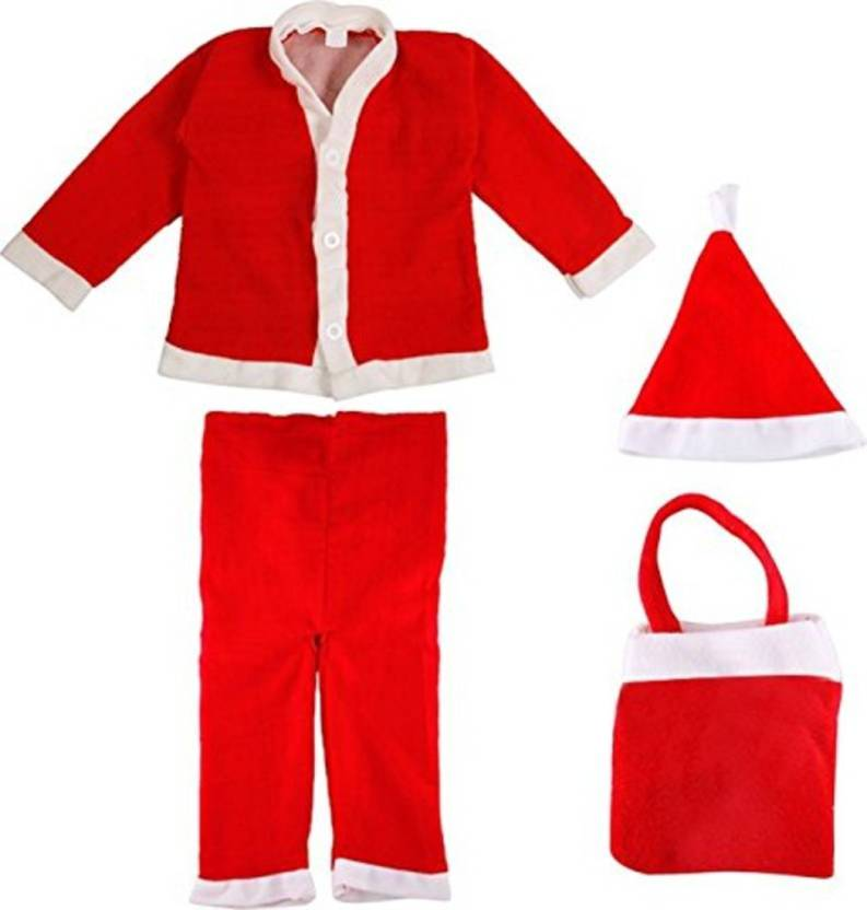 b6eb8b90796c saj Christmas Santa Claus Dress For Boys (Age 10 - 12Year) Xmass Kids  Costume Wear Price in India - Buy saj Christmas Santa Claus Dress For Boys ( Age 10 ...