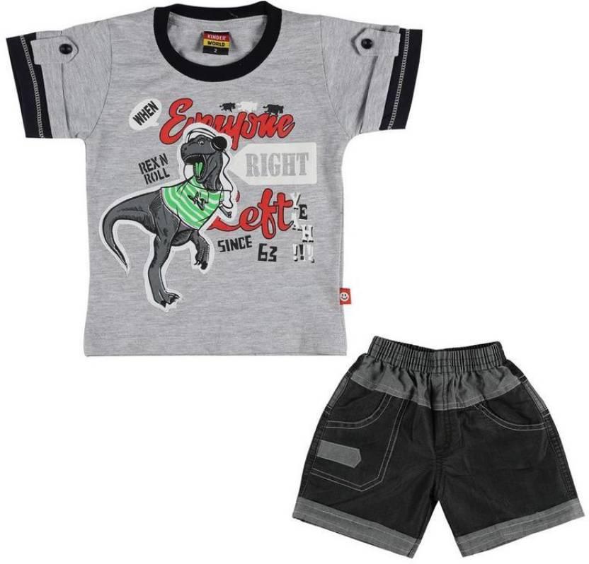 027ecf532 Kids Western Wear Boys & Girls Party(Festive) T-shirt Pant Price in ...