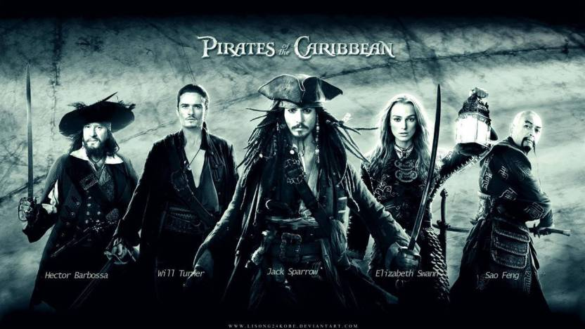 Movie Pirates Of The Caribbean Pirate HD Wall Poster POSTER