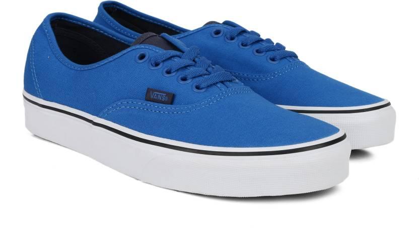 Vans Canvas Shoes For Men - Buy (CANVAS) IMPERIAL BLUE PARISIAN ... 81e1a272f