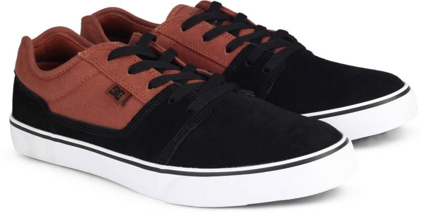 DC Sneakers For Men  (Black)