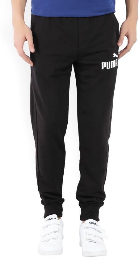 Puma Solid Men s Black Track Pants - Buy Black Puma Solid Men s Black Track  Pants Online at Best Prices in India  c089fc7f2ab1