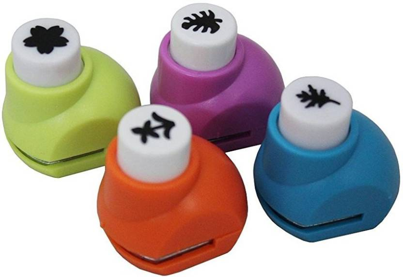 Ascend Store Ascend Store Paper Craft Punch Set Of 4 Assorted Cut