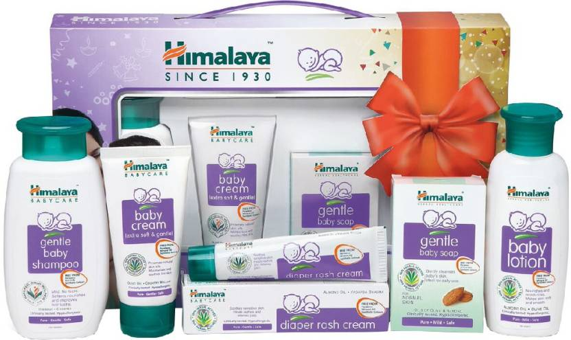 f35fe6f77480d Himalaya Baby Gift Pack of 5 - | Buy Baby Care Combo in India ...