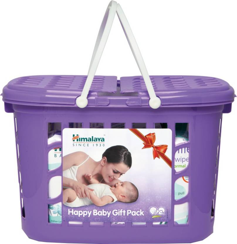 Himalaya Happy Baby Gift Pack  (White)