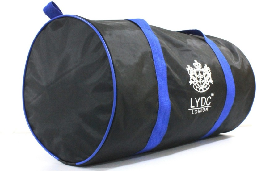 LYDC London LYDC-DRUMBAG-BLACK Waterproof Multipurpose Bag