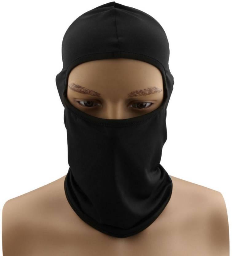 0802e4bb76a Babji Black Bike Face Mask for Men Price in India - Buy Babji Black ...