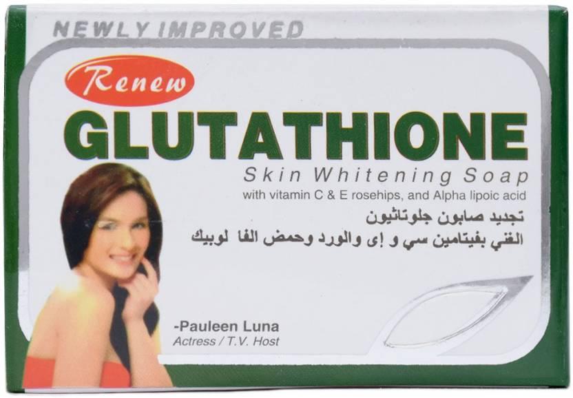 Renew Gluta Glutathione - Skin Whitening Soap 100% Original