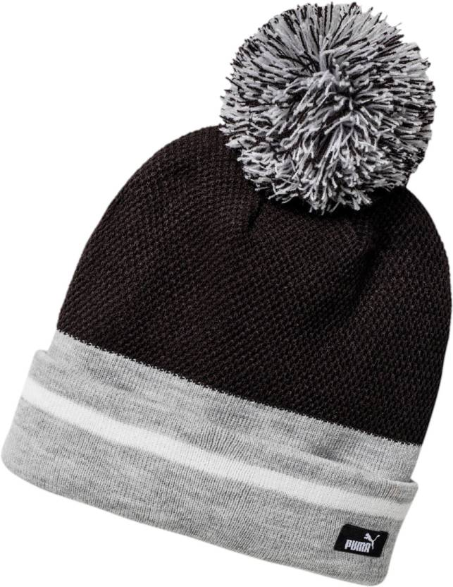 Puma Solid WM POM POM WOMEN S BEANIE Cap - Buy Puma Solid WM POM POM  WOMEN S BEANIE Cap Online at Best Prices in India  86e0eeb6275